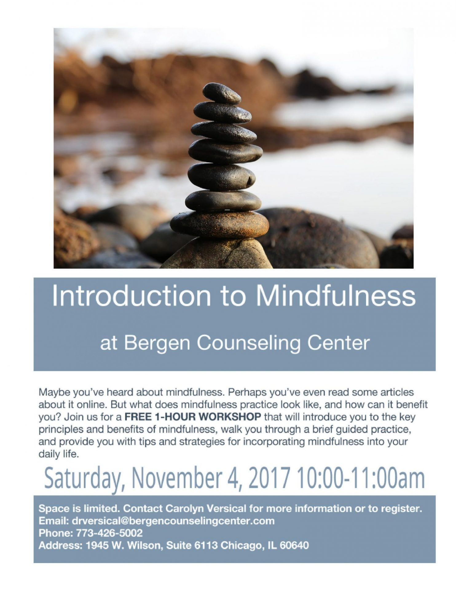 mindfulness workshop chicago